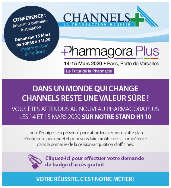 Channels visuel